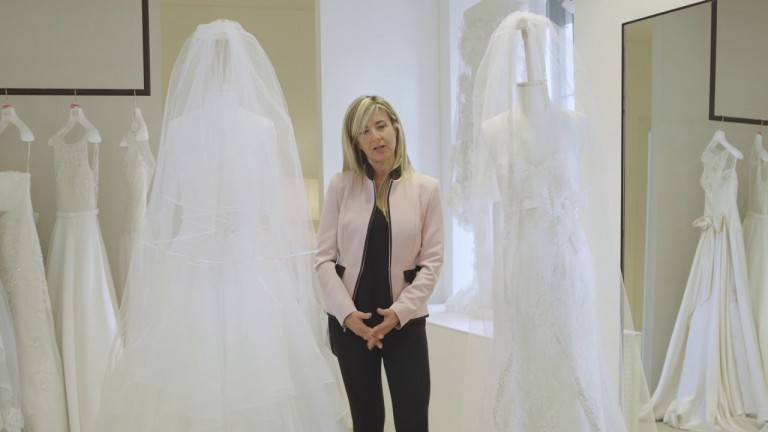 Il velo per l'abito da sposa