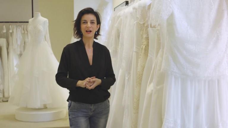 Il bianco negli abiti da sposa