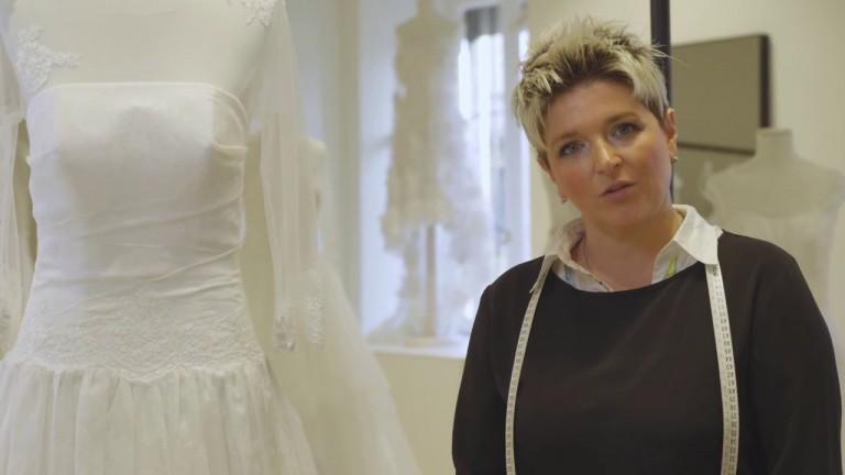Orlo perfetto per l'abito da sposa